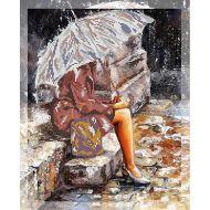 Набор одна под зонтом
