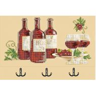 Набор вешалка вино