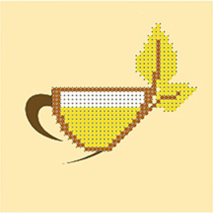 Набор чашка желтая для скрапбукинга