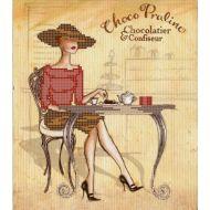 Схема дама и шоколад