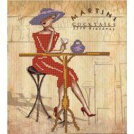 Набор дама с мартини