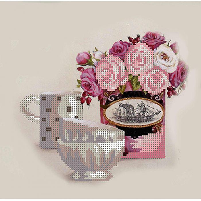 Схема розовый натюрморт для скрапбукинга