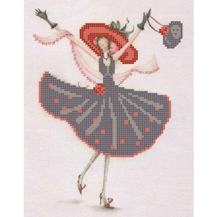 Набор гламурный танец для скрапбукинга