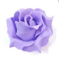 Роза из фоамирана сиреневая 9см
