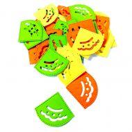 Уголки для фотографий желто-оранжево-зеленые