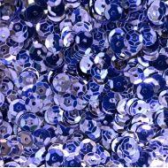 Пайетки граненые фиолетовые 6мм