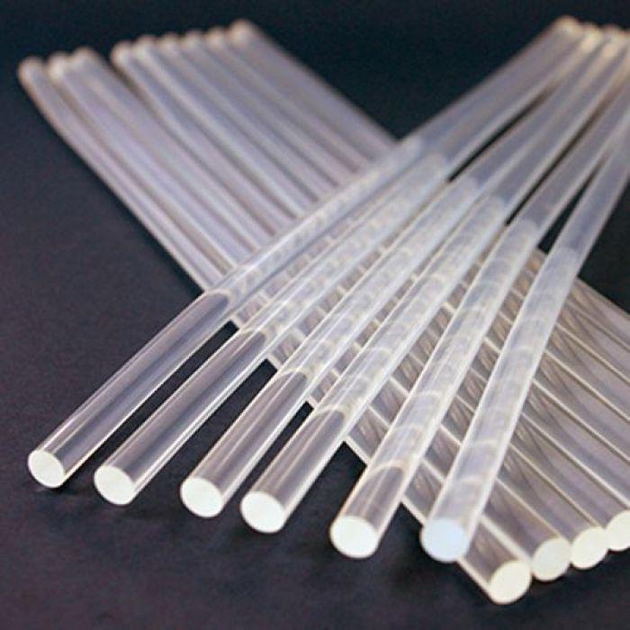 Стержни клеевые прозрачные 7х300мм для скрапбукинга