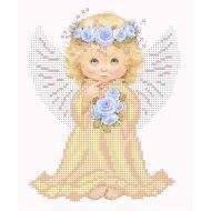 Набор ангел с розами