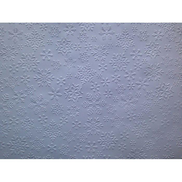 Белая бумага с тиснением снежинки А4 для скрапбукинга