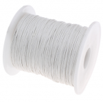 Белый вощёный шнур