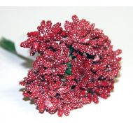 Букет декоративный красный