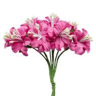 Букетик цветов фуксия