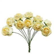 Букетик кремовых роз