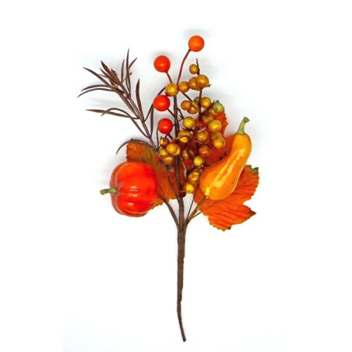 Букетик осенний урожай для скрапбукинга