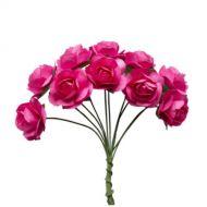 Букетик роз фуксия