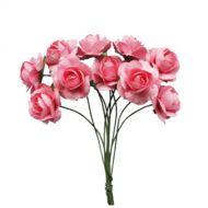 Букетик роз розовый