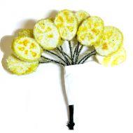 Букетик с лимонными дольками