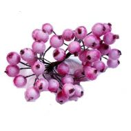 Букетик ягод розовых в сахаре