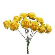 Букетик жёлтых роз