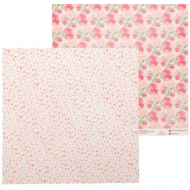 Бумага акварельные цветы