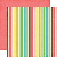 Бумага Bold Stripes, коллекция Life is Good