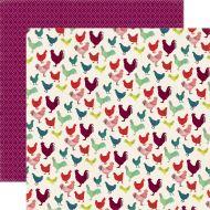 Бумага Chickens, коллекция Homegrown