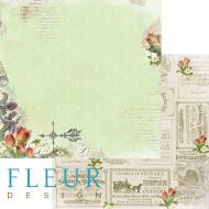 Бумага цветочная фантазия, коллекция краски осени