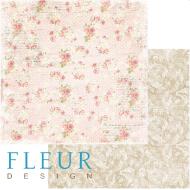 Бумага цветочная мозаика, коллекция забытое лето