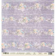 Бумага цветочные кисти, коллекция свадебная история