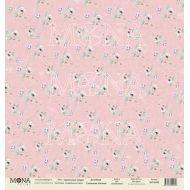 Бумага цветочные узоры, коллекция свадебная история