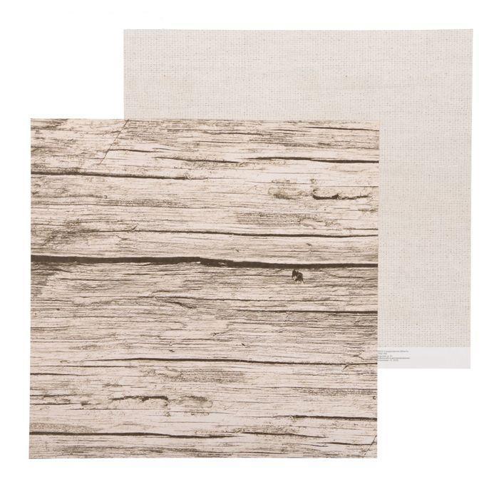 Бумага досочки, коллекция Naturals для скрапбукинга