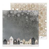 Бумага фигурное печенье, коллекция Зима. With love