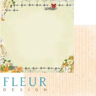 Бумага французский шарм, коллекция краски осени