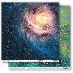 Бумага галактика, коллекция космос