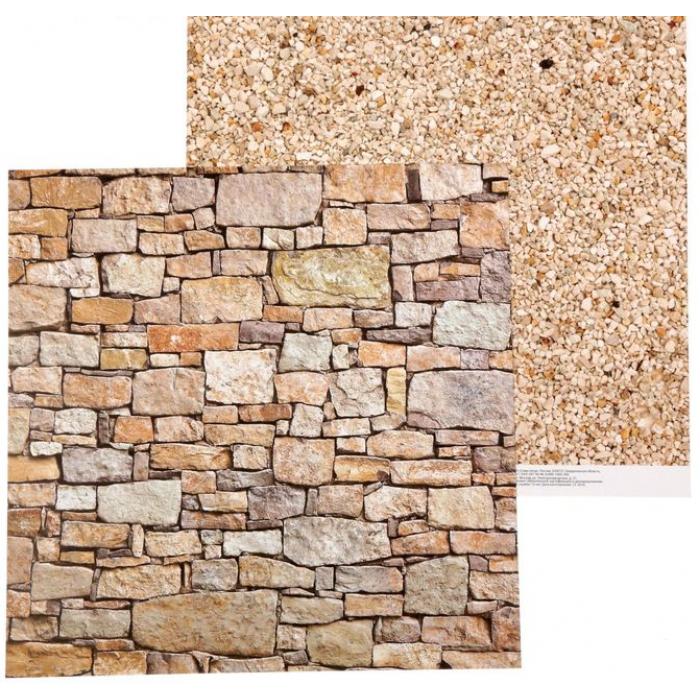 Бумага галечный песок, коллекция Naturals для скрапбукинга