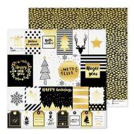 Бумага Gold, коллекция Magic Year