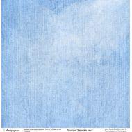 Бумага голубое небо, коллекция Джинсовое лето