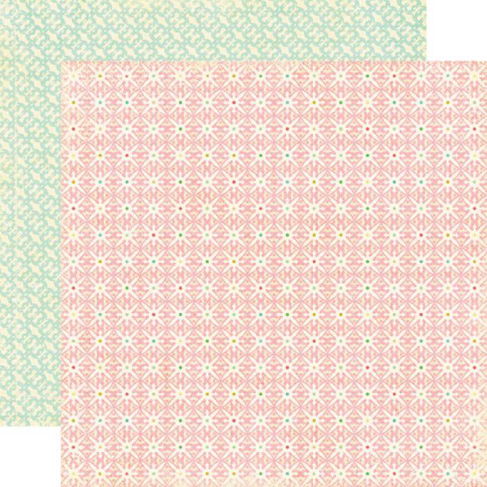 Бумага Grandma's Quilt, коллекция Life is Good для скрапбукинга