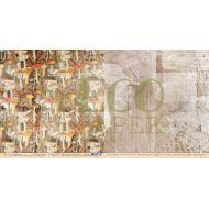 Бумага грибники, коллекция осенний лес