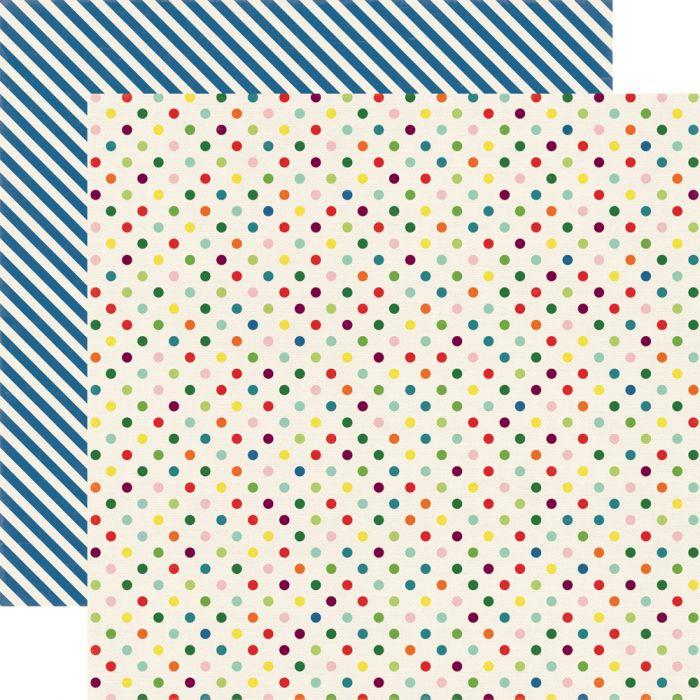 Бумага Homegrown Dots, коллекция Homegrown для скрапбукинга