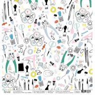 Бумага инструменты, коллекция Scrapgirl