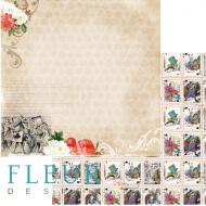 Бумага история, коллекция в стране чудес