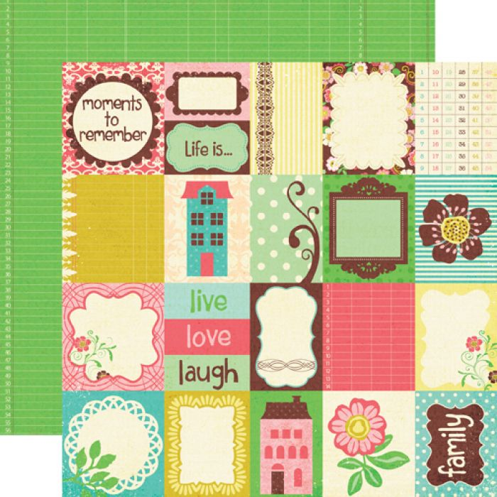 Бумага Journal Cards, коллекция Life is Good для скрапбукинга