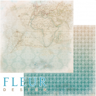 Бумага карта, коллекция лагуна