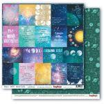 Бумага карточки 2, коллекция космос