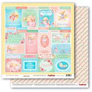 Бумага карточки 2, коллекция Маленькая принцесса