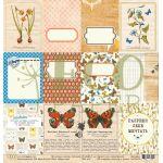 Бумага карточки, коллекция атлас бабочек