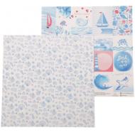 Бумага карточки, коллекция морское приключение