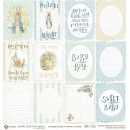 Бумага карточки мальчик, коллекция Кролик Питер и его друзья