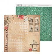 Бумага карты, коллекция в стране чудес